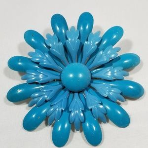 Vintage custom jewelry brooches pin enamel flower